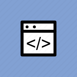 code optimization, html coding, html language, html tag, web coding icon