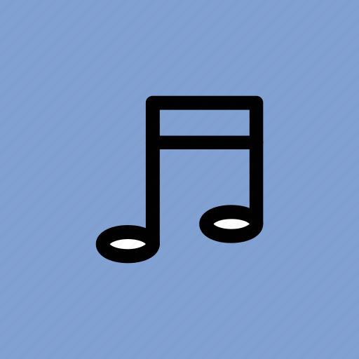 music note, note, sound, sound note, volume note icon