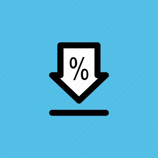 data transmission, down arrow, download, downloading, transfer data icon