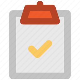 approved, certified, check, checkbox, checkmark, clipboard, confirm icon