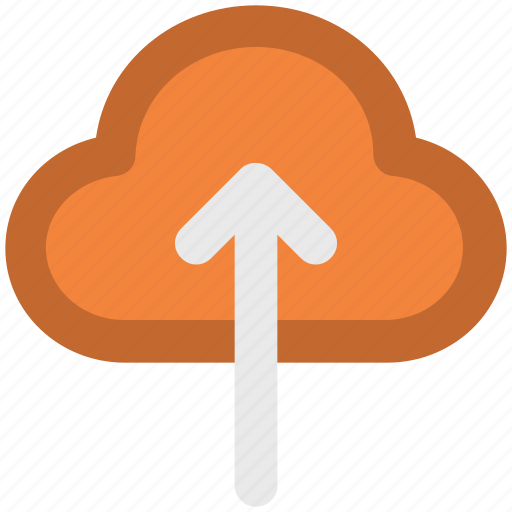 cloud, cloud computing, icloud, up arrow, upload icon
