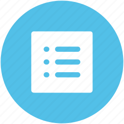 checklist, list, paper, plan list, record icon