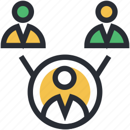 advertising, business, business community, commerce, marketing icon