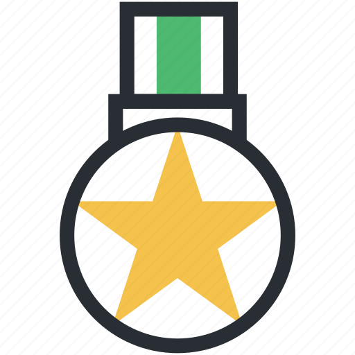 gold medal, medal, star medal, success, victory icon