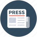 journal, news, newsletter, newspaper, publication
