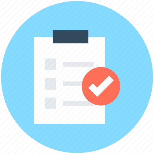 clipboard, doc, list, report, report list icon