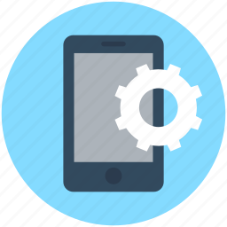 configurations, customize, mobile preferences, mobile settings, mobile tools icon