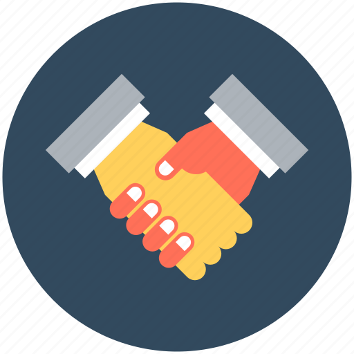 business partner, businessmen, deal, partnership, shake hand icon