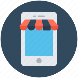 mobile shopping, mobile store, online shop, online shopping, shopping icon