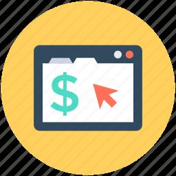 earn online, online business, online earning, online money, online work icon
