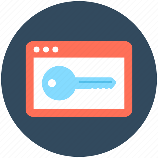 key, keyword, passkey, password, security icon