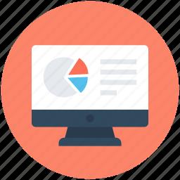 chart sheet, graph report, graph sheet, pie graph, sales report icon