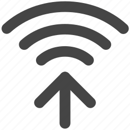 internet, signals, wifi, wifi signals icon