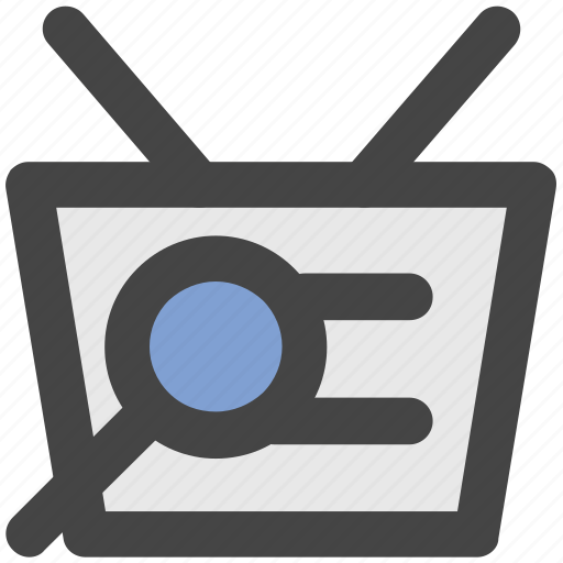 folder, magnifier, magnifying glass, search, search folder icon
