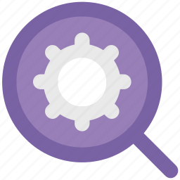 cog, gear, options, search settings, wheel icon