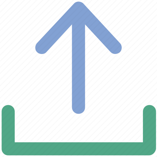 up sign, upload, upload folder, uploading, upward icon