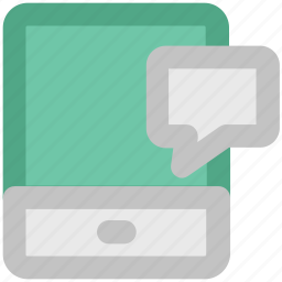 communication, mobile chat, mobile communication, mobile technology, talk icon