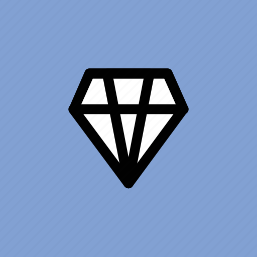 diamond, event, gemstone, jewel, precious stone icon