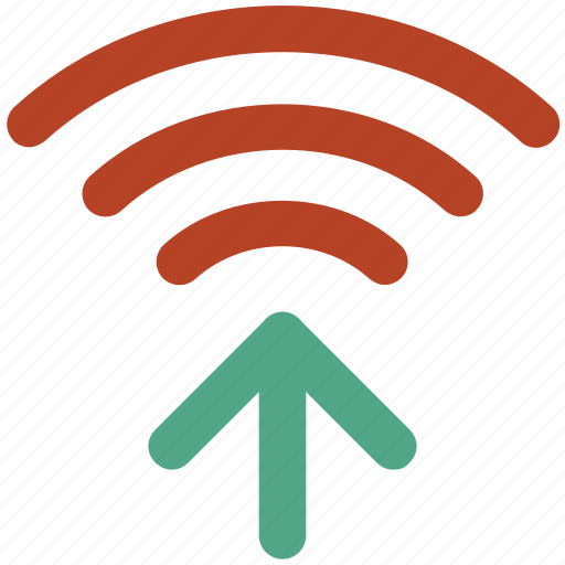 internet connection, signals arrows, wifi connection, wifi connectivity, wifi signals icon