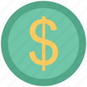 analytics, business, dollar, earning, finance, money icon