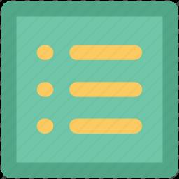 checklist, documents, list, paper, plan list, record icon