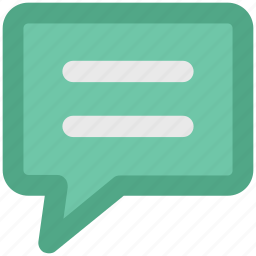 chat balloon, chat bubble, comments, communication, speech balloon, speech bubble, talk icon