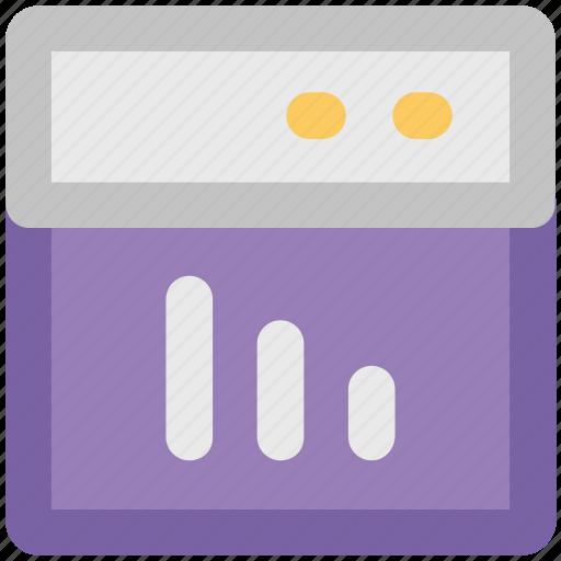 analytic, graph, graph screen, representation, screen, stats icon
