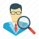 audit, search, seo, usability, find, magnifier, usability audit icon