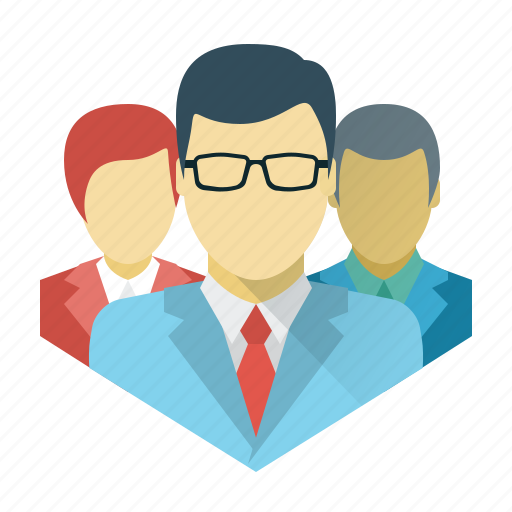 business, businessman, command, crew, marketing, social, team icon