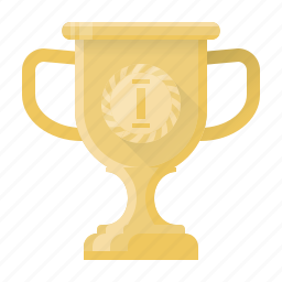 achievement, award, cup, prize, trophy, winner icon