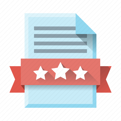 grade, page, page quality, quality, sheet, star, website icon