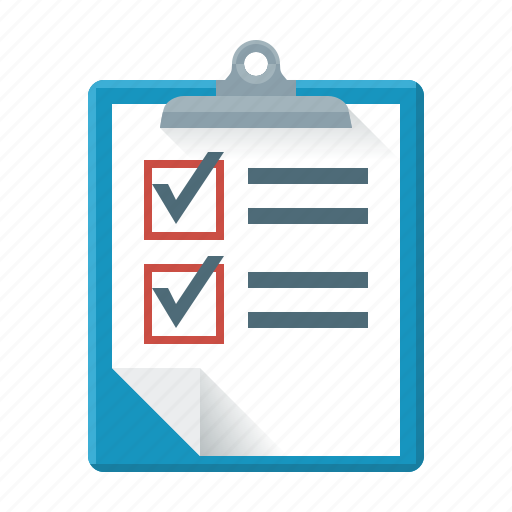 analysis, analytics, audit, checklist, form, questionnaire, report icon