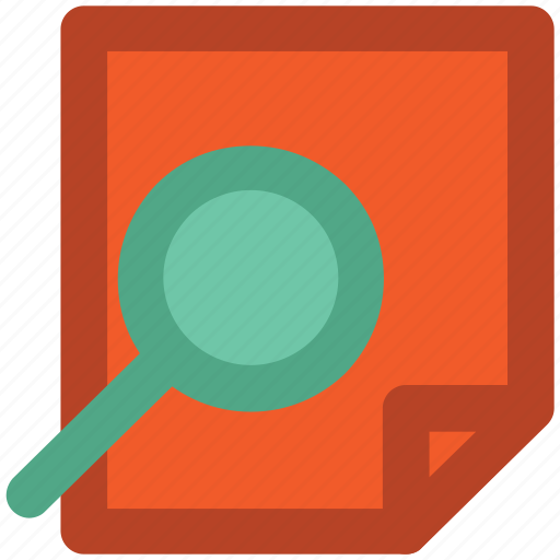 analysis, increasing chart, magnifier, search graph, search report icon