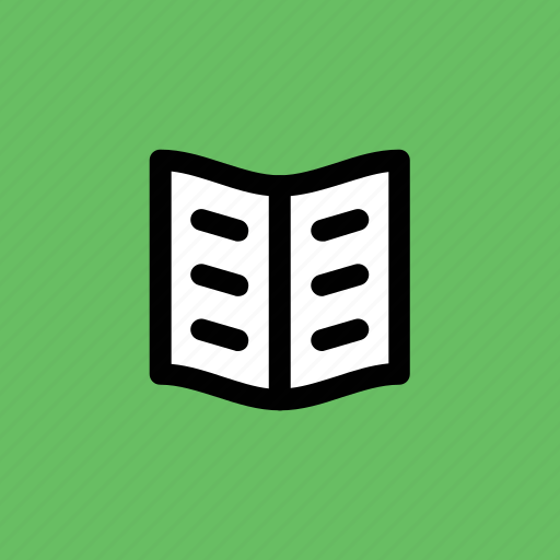 book, encyclopedia, guide, literature, open book, schoolbook icon