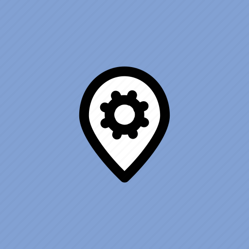 location marker, location pointer, map pin, navigation, pin setting icon