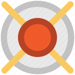 aim, arrow, bullseye, dartboard, game, goal, target icon