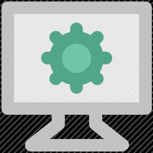 cog, cog wheel, gear, lcd setting, optimization, options, setting, wheel icon
