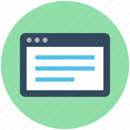 article, article screen, blog, blog article, online article icon