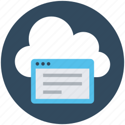 article, cloud computing, cloud document, computing, online docs icon