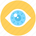 eye, retina, spectrum, view, visible icon