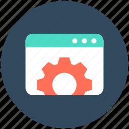 cogs, cogwheel, web cogs, web preferences, web settings icon