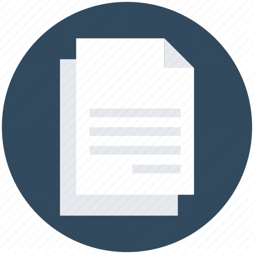 article, blank papers, copy, document, paper icon