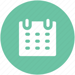 calendar, calendar date, day, schedule, time icon