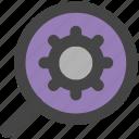 cog, gear, options, search settings, wheel