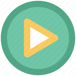 audio play, media, media player, play button, video play icon