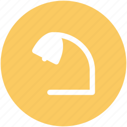 desk lamp, desk light, lamp, study lamp, table lamp icon