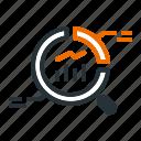 analysis, market, report, seo icon