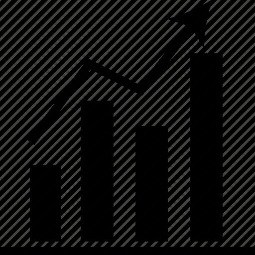 analytics, chart, graph, growth, progress, statistics, stats icon