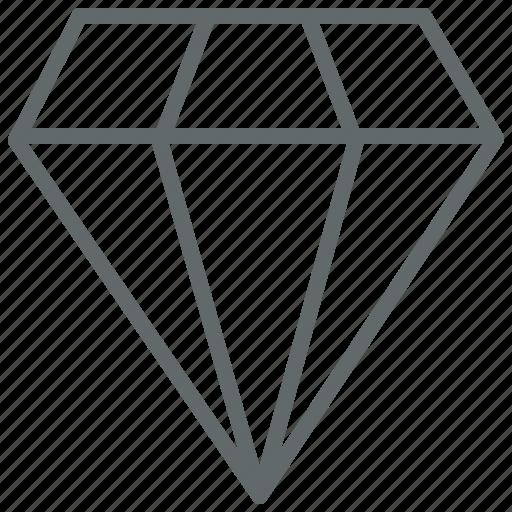 Diamond, gem, premium, ruby icon - Download on Iconfinder