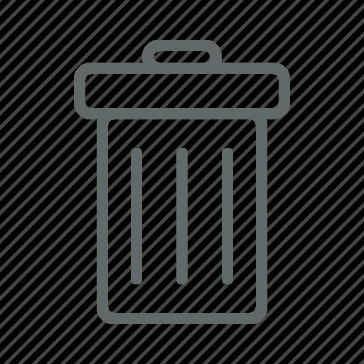 bin, delete, recycle, recyclebin, spam, trash icon